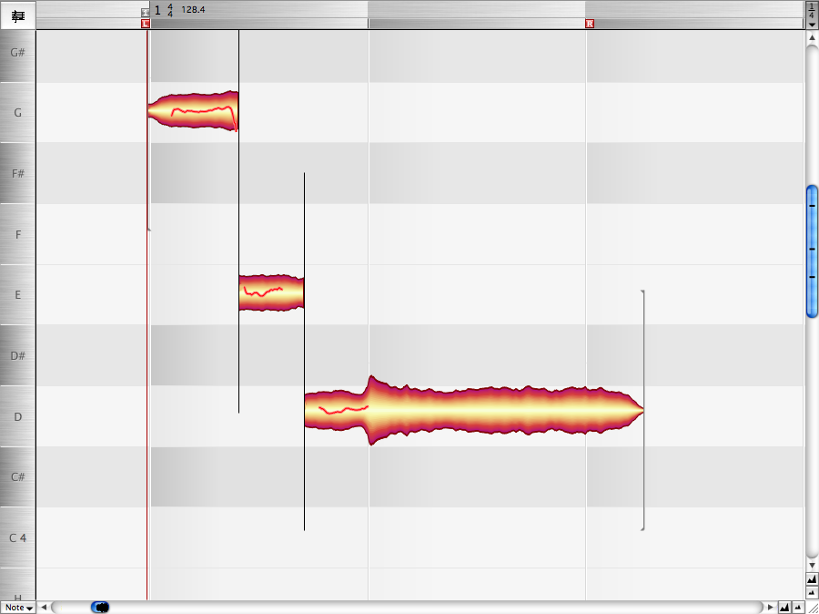 Melodyne Example